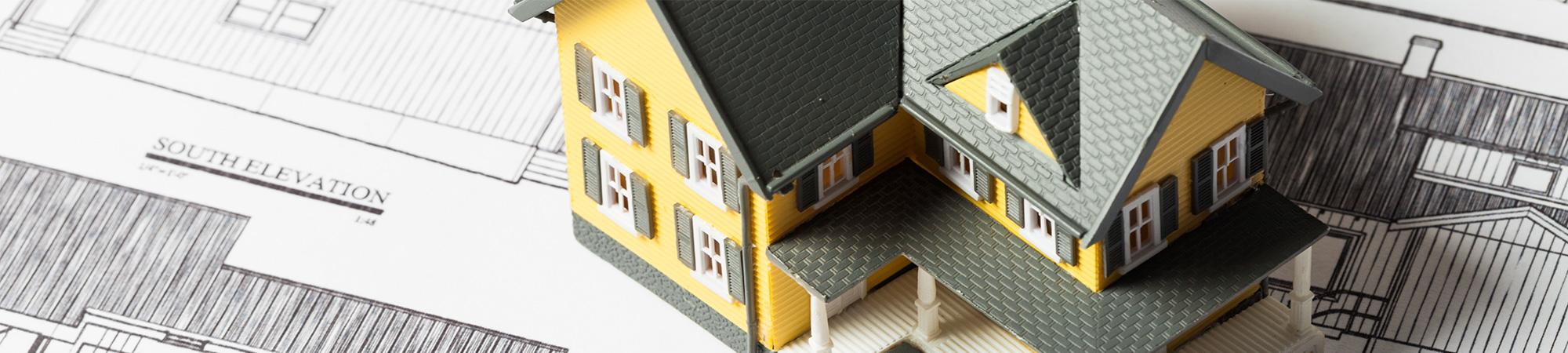 Wohneigentum bauen oder kaufen? Wir beraten Sie gerne...